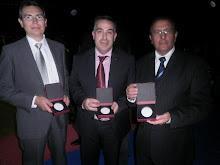 Tres Homenajeados Gala de kárate 2012