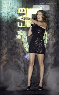 من الأرشيف: كيلي بروك في دبي بفستان مثير