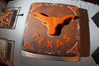 Texas Longhorns NCAA Cake