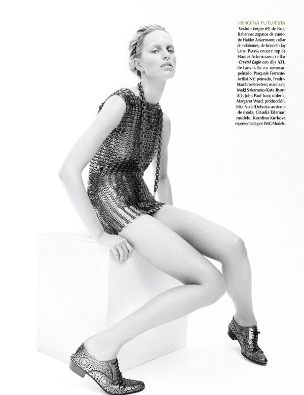 Karolina Kurkova, Sarah Gore Reeves, Vogue Mexico, editorial