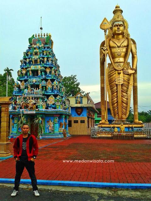 Patung Dewa Murugan di Sumatera Utara