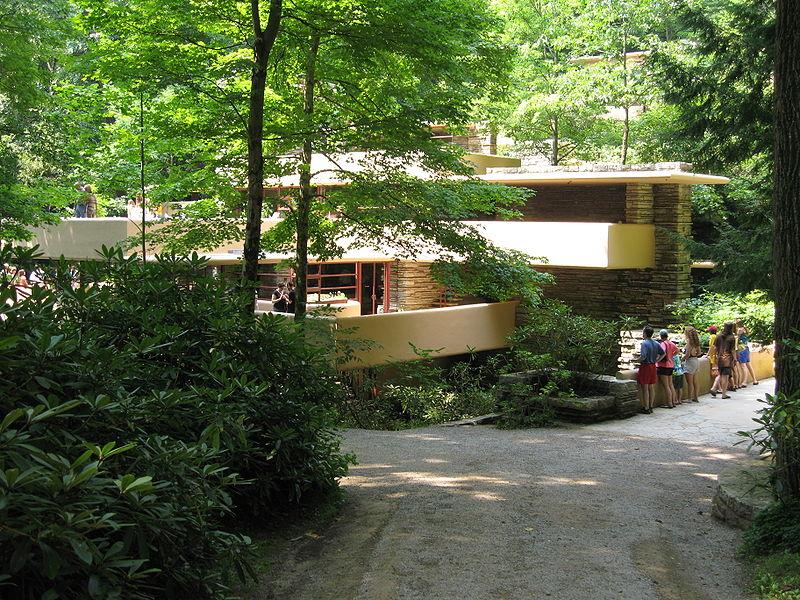 Fallingwater summer landscape internships - La maison sur la cascade ...