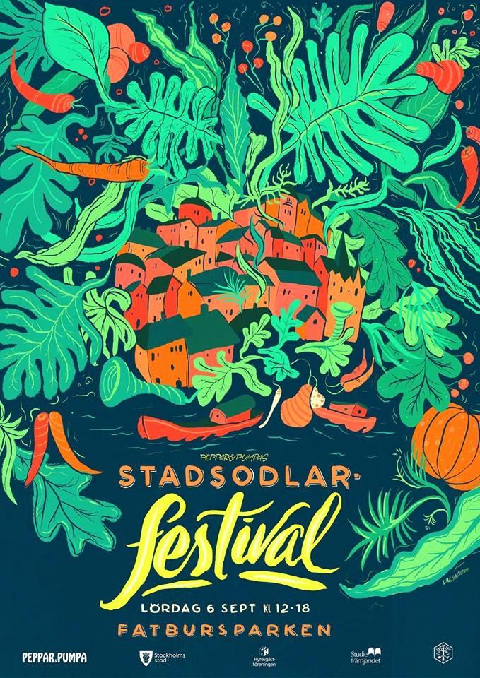STADSODLARfestival på Söder i september 2014