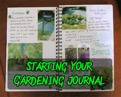 Starting your gardening journal