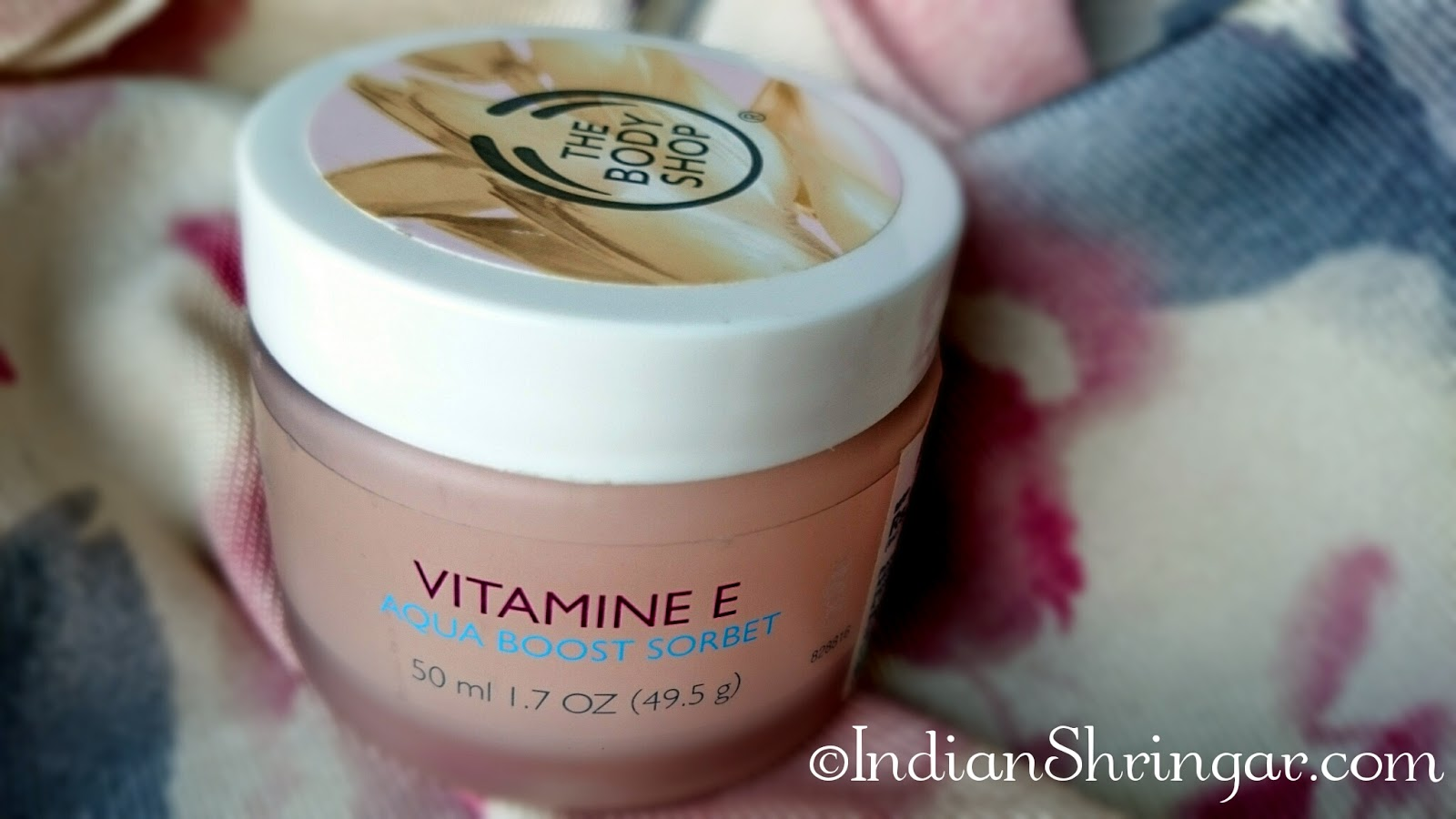 The Body Shop Vitamin E Aqua Boost Sorbet - review