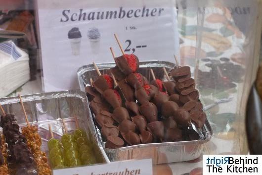 Uliczne jedzenie w Wiedniu