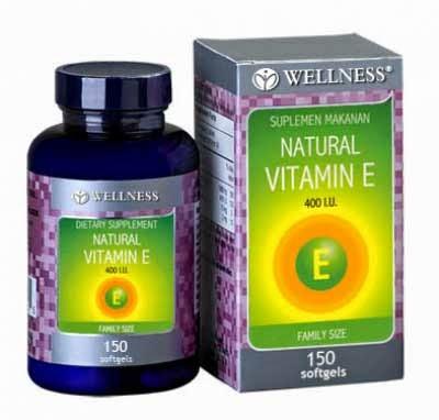 Suplemen Vitamin E Alami