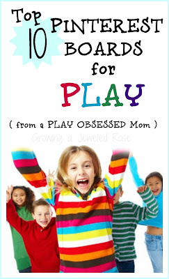 Top 10 Pinterest Boards For Play