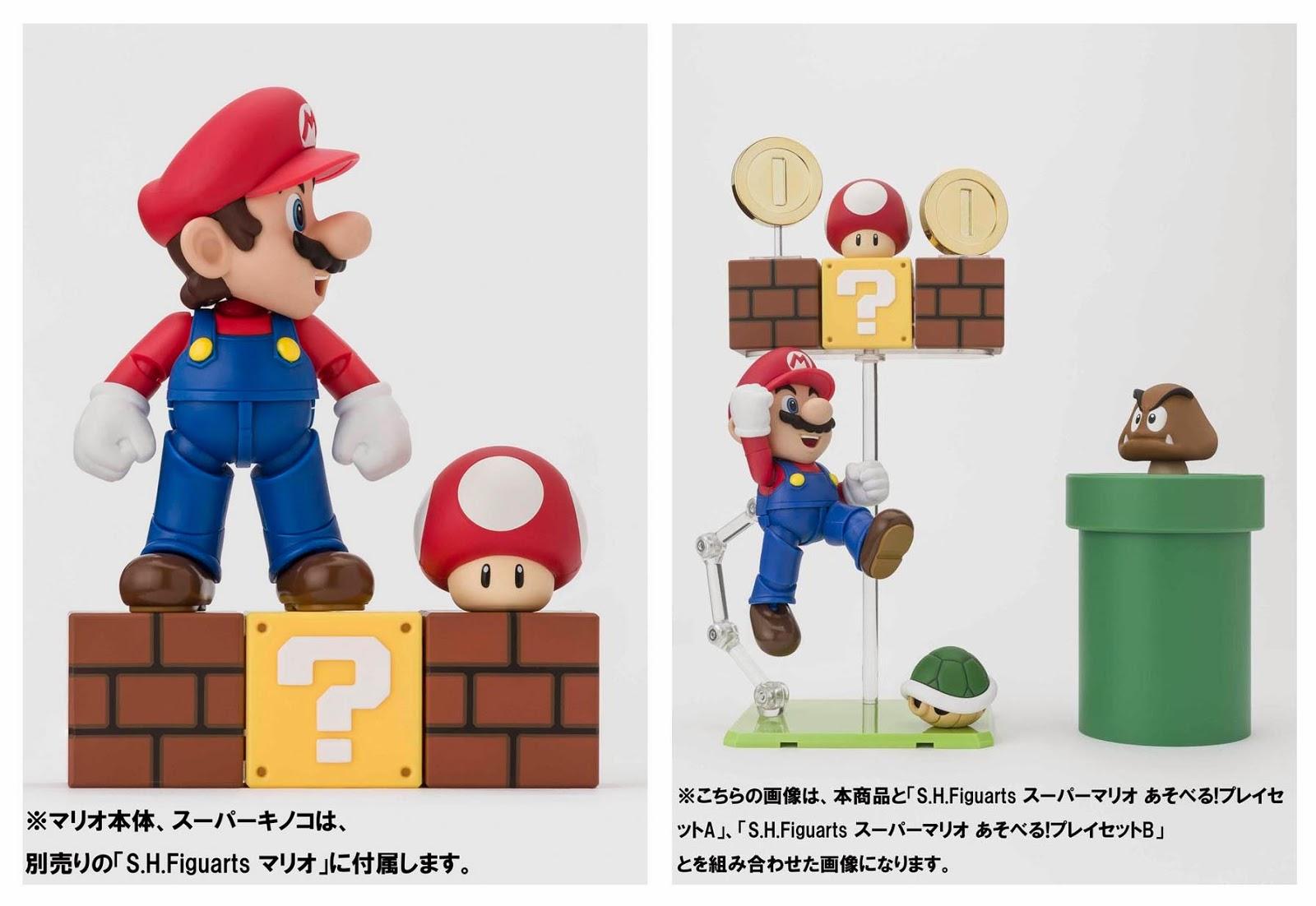 Official Release Photos SHFigurearts Super Mario Playset