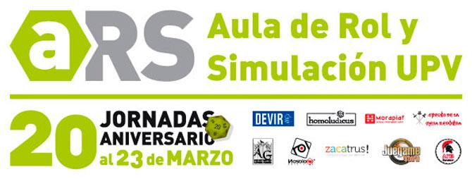 ARS Jornadas 20 Aniversario Banner
