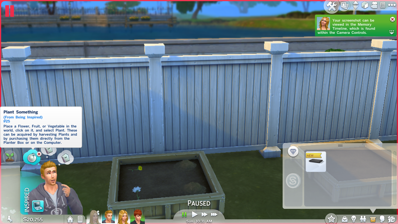 sims 4,sims 4 gardening