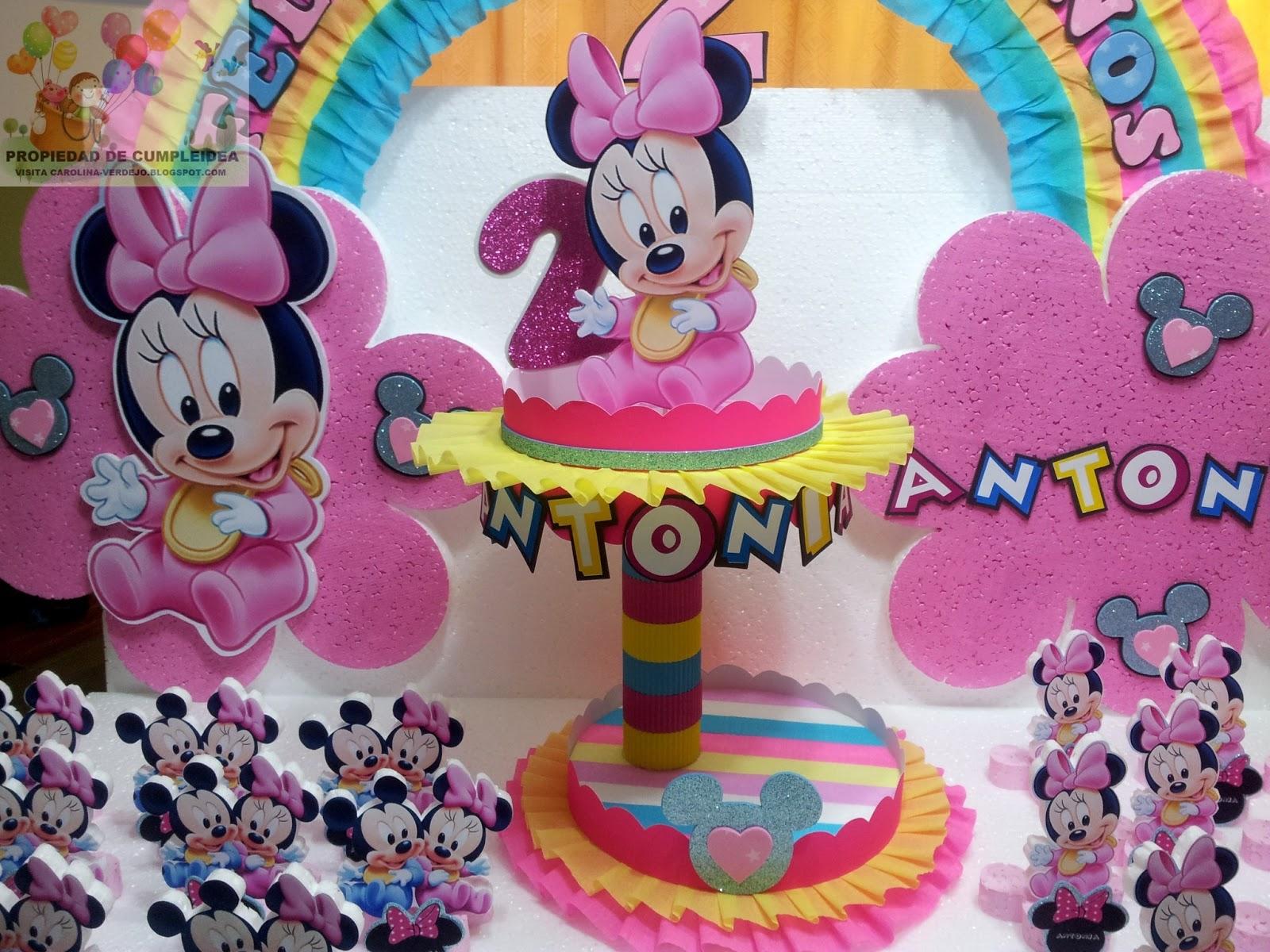Imagenes de decoración de Minnie Mouse bebé - Imagui