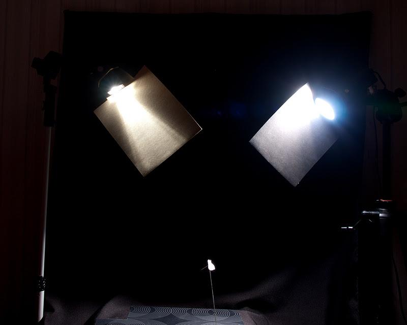 Как выставить свет в домашних условиях