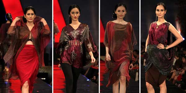 Koleksi Busana Lebaran Terbaru Alleira Batik
