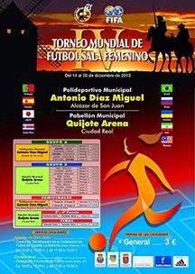 FÚTBOL SALA - Mundial femenino 2013 (España) Brasil se convierte en tetracampeón del mundo