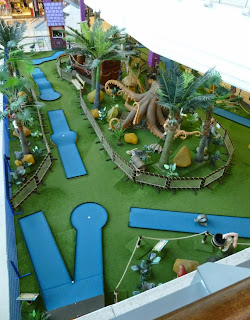 Pirate Mini Golf at the Galleria Shopping Centre in Hatfield
