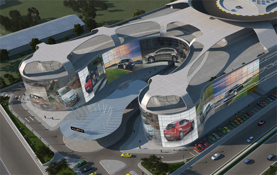 Mall Autopia Europia penjualan mobil terbesar 4