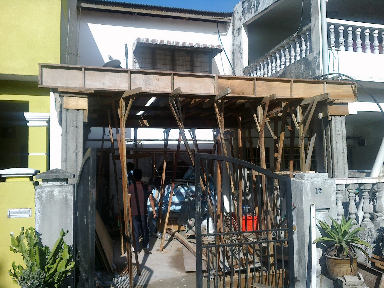 ... RUMAH TERES 2 TINGKAT DI BATU 3 SHAH ALAM. on kos wiring rumah teres