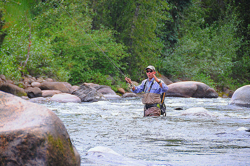 Fly fish addiction vail valley 39 s eagle river summertime for Fly fishing vail colorado