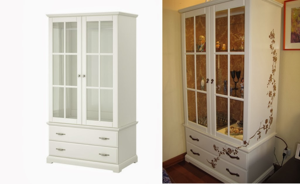 Muebles restaurados y tuneados - Ikea armario zapatero ...