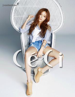 Hara KARA - Ceci Magazine May Issue 2015