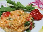 Risoto de Rúcula com Tomate Seco