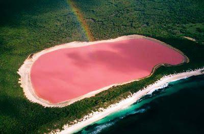 8 Danau Pink Terindah di Dunia
