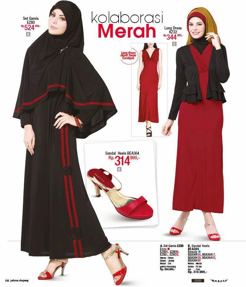 Desain Gamis Simple Modern Baju Muslim