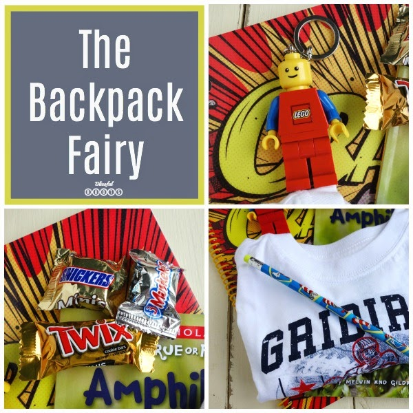 The Backpack Fairy {Fun Night Before the First Day of School Tradition} @ Blissful Roots