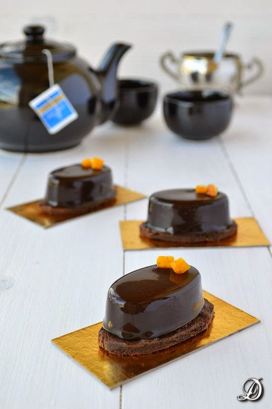 Mousse de Chocolate con Té Lady Grey y Azahar