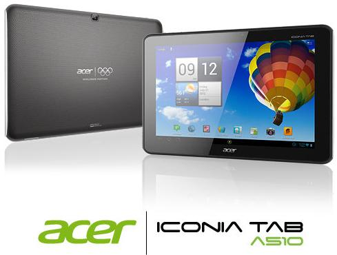 Acer Iconia Tab A510 Review and Gaming Performance