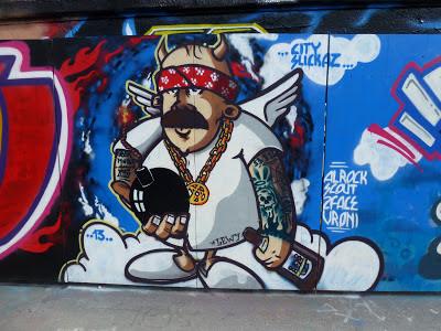 Graffiti, Streetartart Urban Art, München, Tumblingerstraße