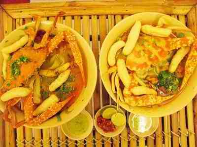 Cuối năm đi ăn bánh canh ghẹ chấm muối ớt xanh, địa chỉ ẩm thực, địa điểm ăn uống