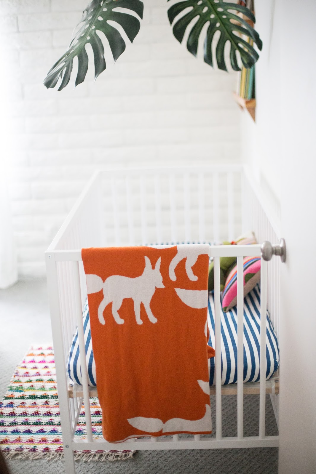 The Colorful Minimalist Nursery Tour I Believe In Unicorns