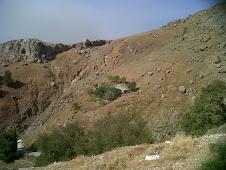 Paysages désolés en Samothrace