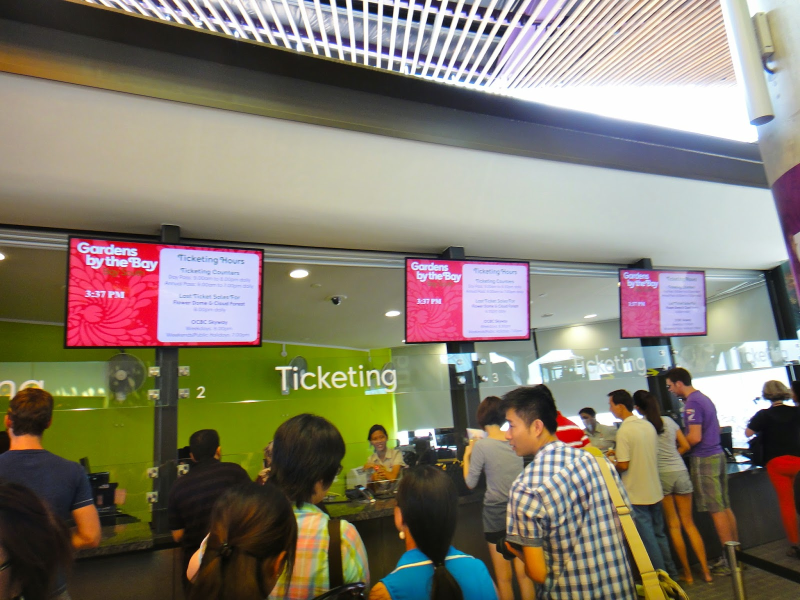 Gardens by the Bay Ticketing Office Singapore