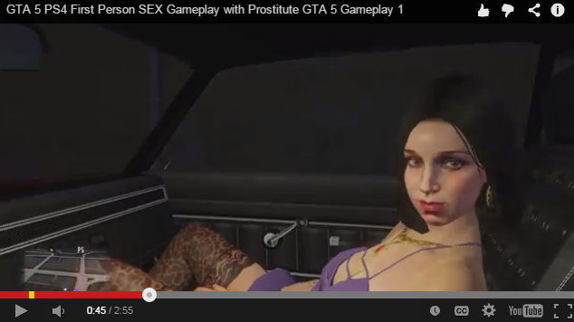 Sexy grand theft auto porn really