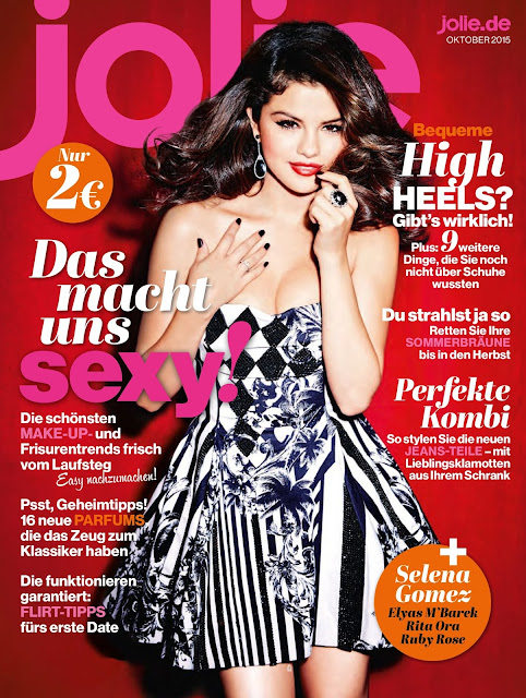 Actress, Singer @ Selena Gomez - Jolie Magazine, October 2015