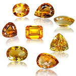 November Birthstones Citrine and Topaz