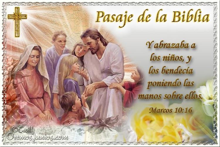 Vidas Santas: Santo Evangelio según san Marcos 10:16
