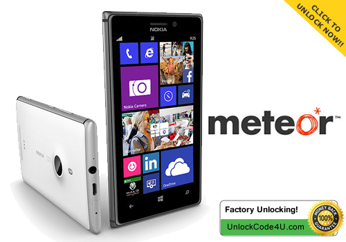 Factory Unlock Code for Lumia 925