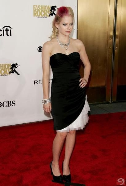 Avril Lavigne - Fashion Rocks 2007