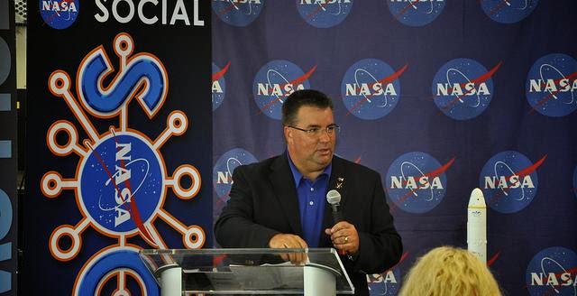 Ed Mango. Credit: NASA