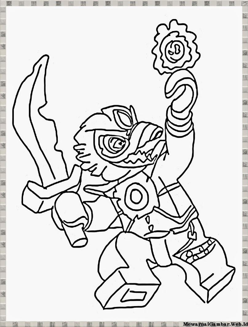 gambar karakter lego chima