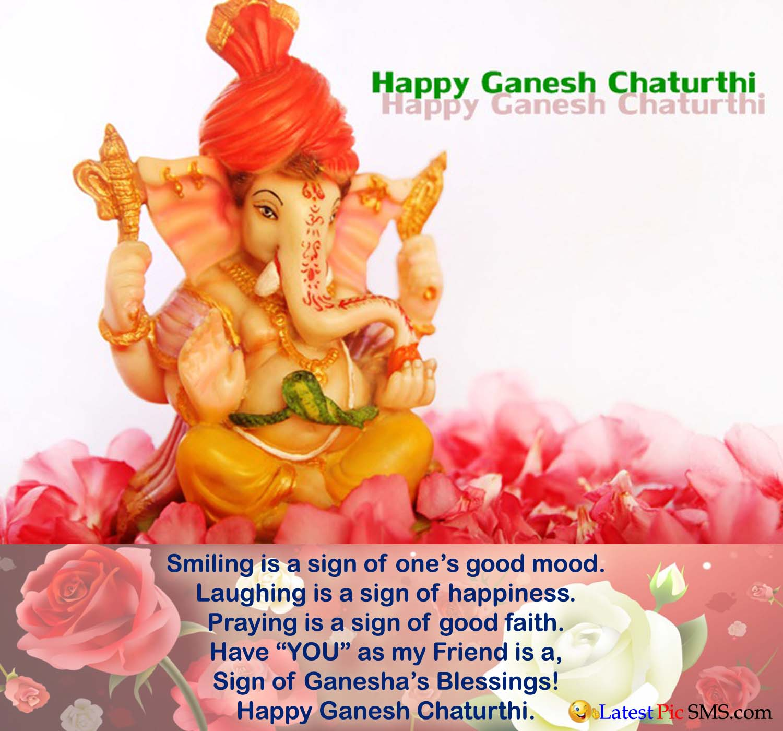 Amazing Shining of Ganesha full HD wallpaper Quotes
