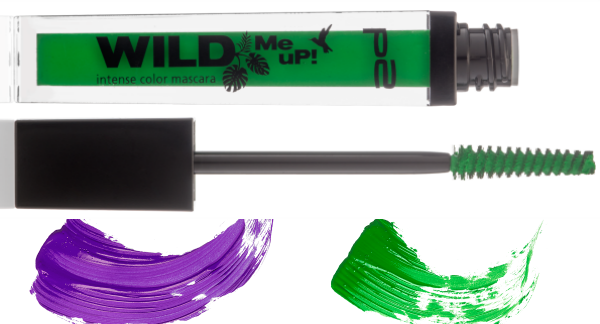 p2 wild me up INTENSE COLOR mascara