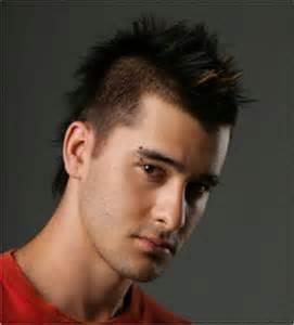 Model rambut pria berwajah lonjong
