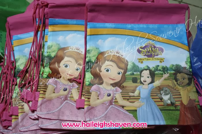 SOFIA THE FIRST GIVEAWAYS AND PARTY SUPPLIES | Haileigh's Souvenir ...