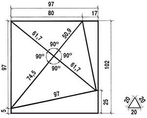 схема головоломки бермудский треугольник