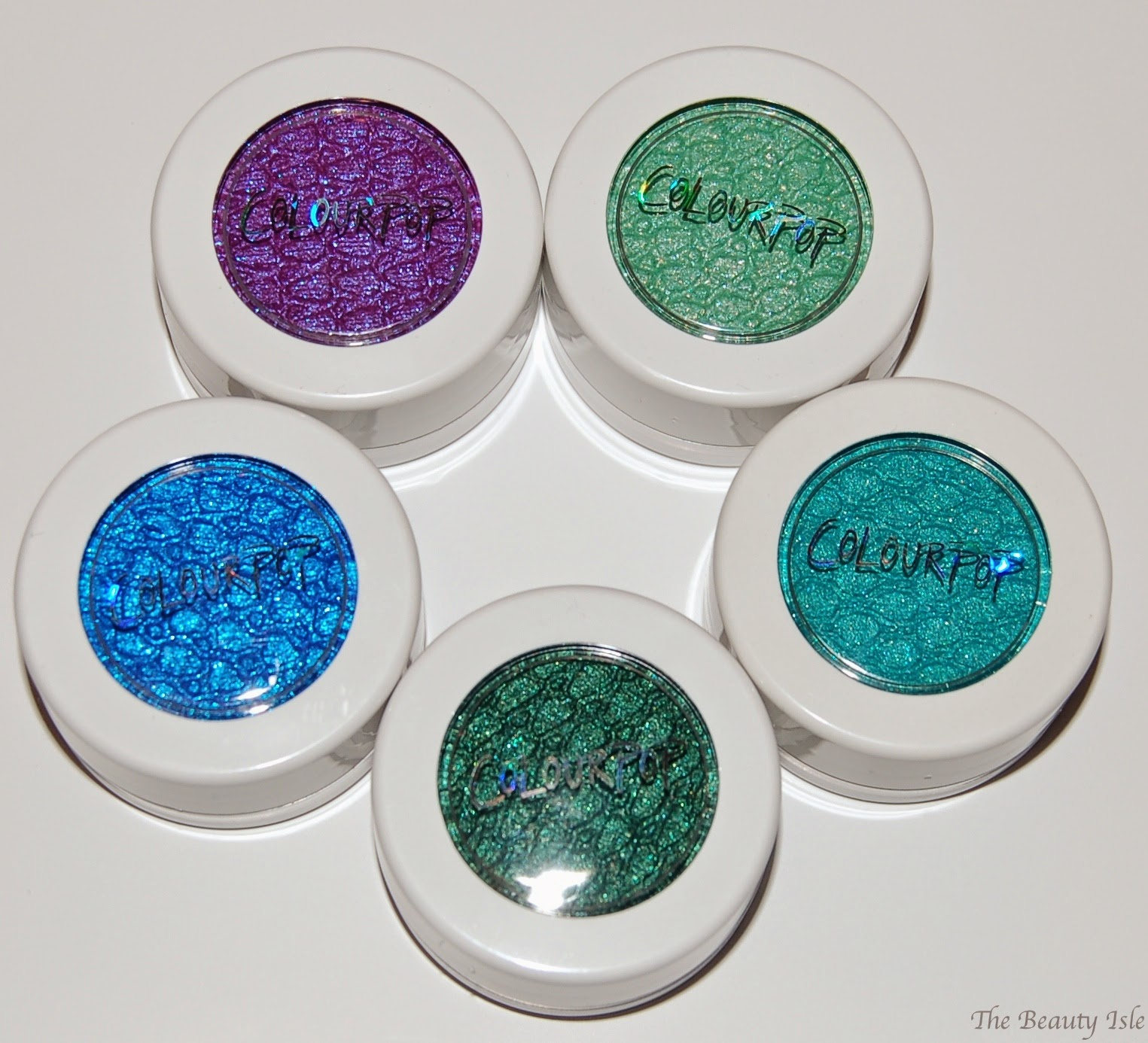 Colour Pop Eye Shadows